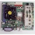 Jetway Socket 754 K8M8MS Motherboard With AMD Athlon 3000 2.00 GHz Cpu