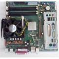 Fujitsu Socket 478 D1561 Motherboard With Pentium 4 3000 Cpu