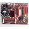 Abit Socket 775 FP-IN9 SLI Motherboard With Core 2 Duo 6600 Cpu