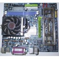 Gigabyte Socket 754 GA-K8VM800M Motherboard With AMD Athlon 3000 Cpu