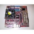 MSI Socket 939 MS-7191 Motherboard With AMD Athlon 3200 Cpu