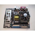 Foxconn Socket 775 661M05-6LS Motherboard With Celeron 2800 Cpu