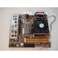 Asus M2V-TVM Socket AM2 Motherboard With AMD Athlon X2 Dual Core 4200 2.20 GHz Cpu