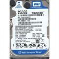 """Western Digital WD2500BEVT-22A23T0 250Gb 2.5"""" Internal SATA Hard Drive"""