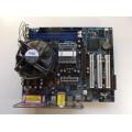 Asrock 775i65G Socket 775 Motherboard With Intel Pentium 3.20 GHz Cpu