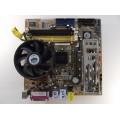 Asus P5VDC-TVM/S Socket 775 Motherboard With Celeron D 3.06 GHz Cpu