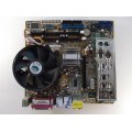 Asus P5LD2-TVM SE/S Socket 775 Motherboard With Core 2 Duo E4400 2.00 Ghz Cpu