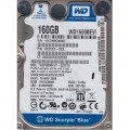 "Western Digital WD1600BEVT - 22ZCT0 160Gb 2.5"" Laptop Internal SATA Hard Drive"
