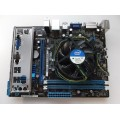 Asus P8H61-MX USB3 Socket 1155 Motherboard With Intel G620 2.60 GHz Cpu