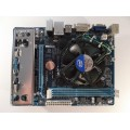 Gigabyte GA-H61M-DS2 Skt 1155 Motherboard With Intel Core i3-3225 3.30 GHz Cpu