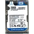 """Western Digital WD2500BEVT - 00A23T0 250Gb 2.5"""" Internal SATA Hard Drive"""
