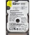 """Western Digital WD600UE - 22KVT0 60Gb 2.5"""" Laptop Internal PATA Hard Drive"""