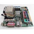 Acer MS-7022 Socket 478 Motherboard With Intel Pentium 4 2.80 GHz Cpu