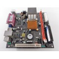 ECS C7VCM2 REV:1.1 Mini-ITX Motherboard With 128MB Flash Disk Module