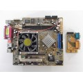 Asus A7VT Socket A (462) Motherboard With AMD Sempron 2500 1.75 GHz Cpu