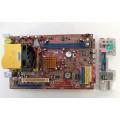 Biostar P4VBU-S7A Socket 775 Motherboard With Intel Pentium 3.00 GHz Cpu