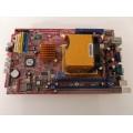 Biostar K8VBK-S7 Socket 754 Motherboard With AMD Sempron 3400 2.00 GHz Cpu