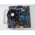 Asus M4A78LT-M AM3 Motherboard With AMD Phenom II Quad X4 925 2.80 GHz Cpu
