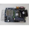 Gigabyte GA-8S648FX-RZ Socket 478 Motherboard With Intel Pentium 3.00 GHz Cpu