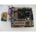 Asus A7VC Socket A (462) Motherboard With AMD Athlon 1800 Cpu