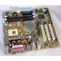 FIC P4M-865 IFG415M Socket 478 Motherboard With Intel Pentium 4 2.60 GHz Cpu