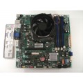 HP Pro 3130 612500-001 614494-001 MS-7613 Motherboard With Intel Core i3 550 Cpu