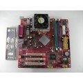 MSI MS-6777 VER:1 Socket A (462) Motherboard With AMD Athlon XP 2700+ Cpu