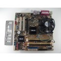Asus P5L-VM1394 Socket 775 Motherboard With Intel Core 2 Duo E4500 2.20 GHz Cpu