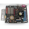 MSI K8N Neo2 MS-7025 Socket 939 Motherboard With AMD Athlon 3000+ Cpu