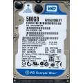 "Western Digital WD5000BEVT - 24A0RT0 500Gb 2.5"" Laptop SATA Hard Drive"