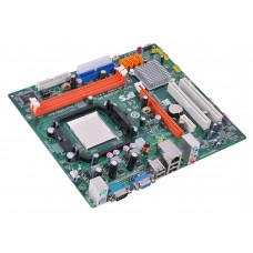 ECS GeForce6100PM-M2 Motherboard With Athlon X2 Dual Core 4400 2.30 GHz Cpu