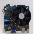 Asus P8H61-I LX/RM/SI Socket 1155 Motherboard With Intel i5 3470 3.20 GHz Cpu