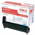 OKI Genuine Cyan Image Drum For C5600 C5700 p/n 43381707