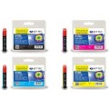 Jet Tec Epson Ink T1281/ T1282/ T1283/ T1284 Black, Cyan, Magenta, Yellow