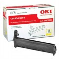 OKI C5650/C5750 Genuine Yellow Image Drum 43870005