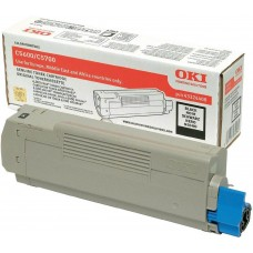OKI C5600/C5700 Genuine Black Toner Cartridge p/n 43324408