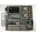 Intel SE7520BD2 C44688-703 Server Board With Dual Intel Xeon 3.20 GHz CPUs