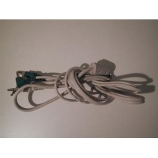 3.5mm Twin Jack to 3.5mm Twin Jack Plug Stereo Audio Cable 1.2 Metres