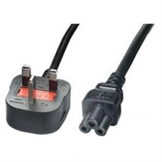 Laptop 3 Pin Clover Leaf Mains Power Cable 1.8M
