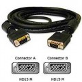 VGA Male to Male Monitor Cable 2 Metres