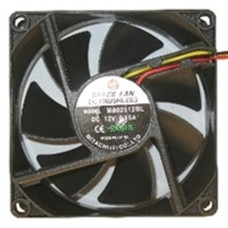 Case Fan 8cm 3+4 pin connector