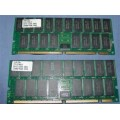 Samsung Pair of 256MB SDRAM KMM372F3280CS1-5 (Total of 512MB)