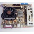 Asus Socket 754 K8S-MX Motherboard With AMD Sempron 2800 Cpu