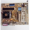 Asus Socket 754 K8N Motherboard With AMD Athlon 3400 Cpu