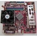 MSI Socket 478 865GM3-LS Motherboard With Pentium 4 3000 Cpu