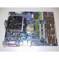 Gigabyte Socket 754 GA-K8VT800 Motherboard With AMD Athlon 3200 Cpu