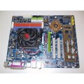 Gigabyte Socket 939 GA-K8NSC-939 Motherboard With AMD Athlon 3200 Cpu