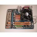 Gigabyte Socket 775 GA-G31M-ES2L Motherboard With Intel Pentium 2.40 GHz Cpu