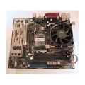 AOpen Socket 478 MX4SGVI-N Motherboard With Intel Pentium 4 3000 Cpu