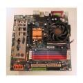 Gigabyte Socket 939 GA-K8N51GMF-9-RH Motherboard With AMD Athlon 3500 Cpu